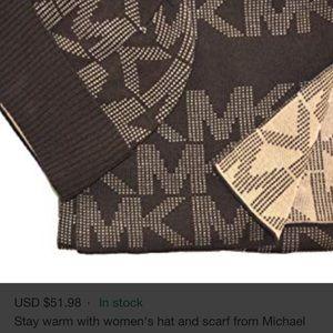 Michael Kors Accessories - Micheal Kors scarf & beanie set